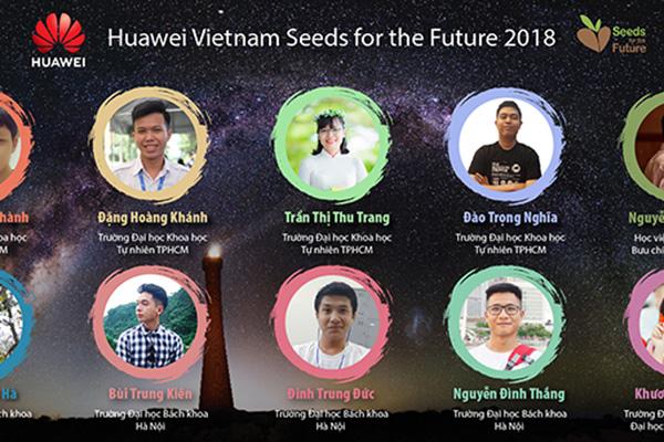 """Huawei Việt Nam tặng 10 học bổng """"Hạt giống viễn thông"""" cho sinh viên công nghệ"""