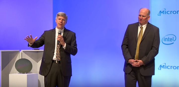 Khoảng thời gian tốt đẹp: năm 2015, Intel và Micron công bố 3DXPoint. Nay, cả hai đã quyết định dừng lại