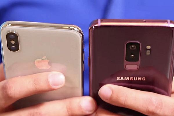 """Samsung """"đá đểu"""" tốc độ mạng của iPhone X trong quảng cáo mới"""