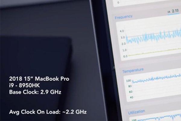 Core i9 trên MacBook Pro 2018 bị lỗi quá nhiệt, giảm xung xuống còn thấp hơn Core i7