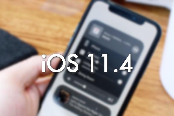 Apple khóa sign hạ cấp về iOS 11.4 sau khoảng 1 tuần phát hành iOS 11.4.1