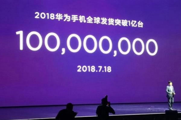 """Huawei tuyên bố đã bán được 100 triệu smartphone trong năm nay, """"phả hơi nóng"""" vào gáy Apple"""
