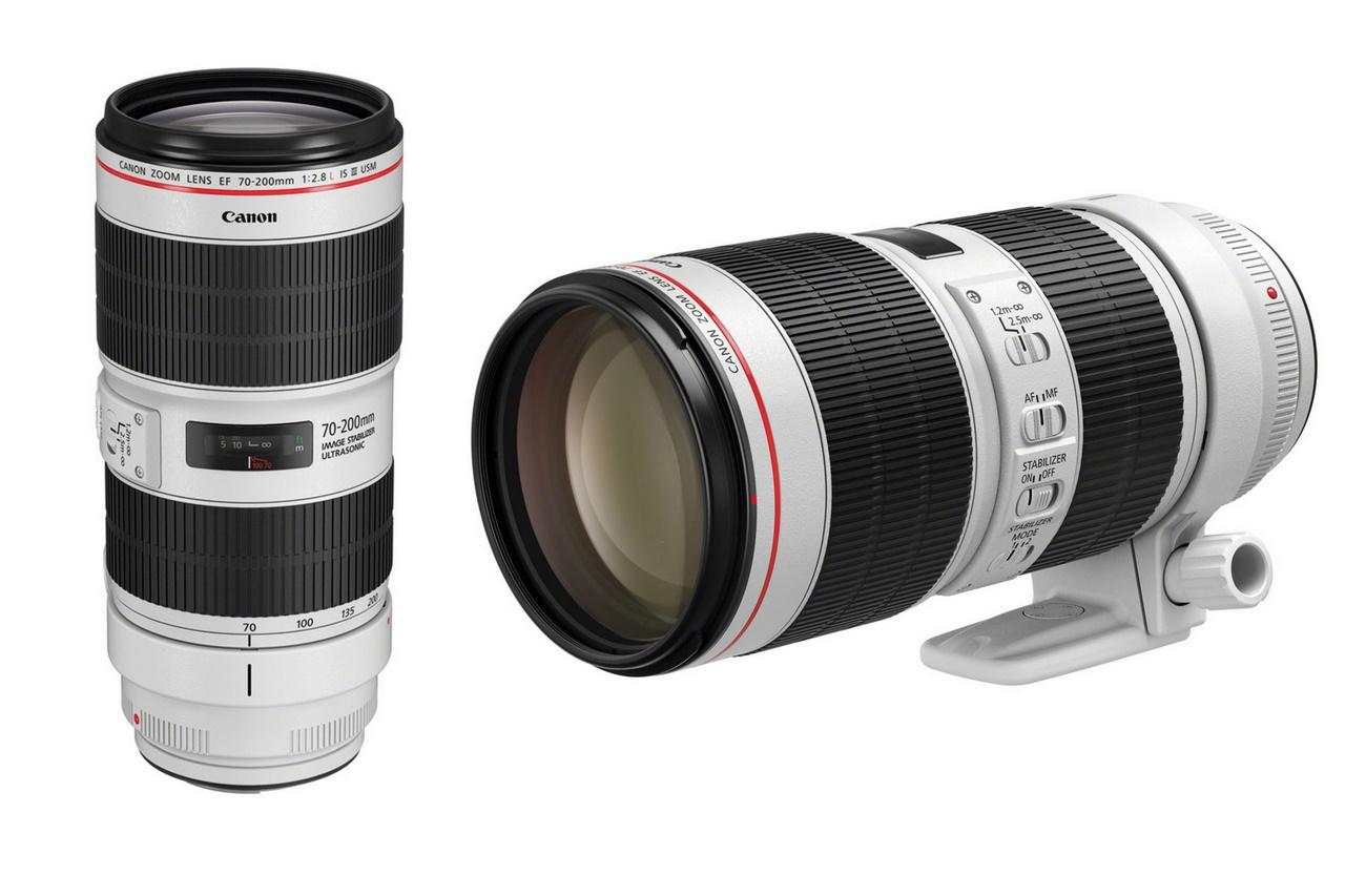 Canon bán ra 2 lens tele EF70-200mm thế hệ mới tại Việt Nam, giá từ 32 triệu đồng