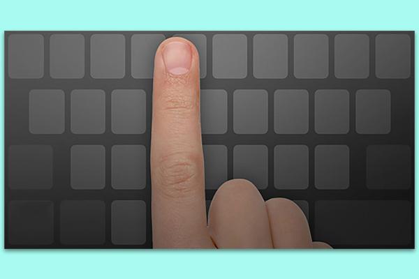 Bằng cách này, bạn có thể dễ dàng sử dụng Trackpad trên các iPhone không có 3D Touch