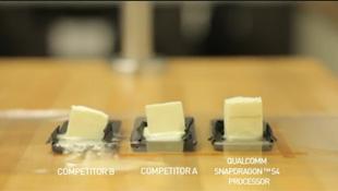 Đo nhiệt độ smartphone bằng bơ!