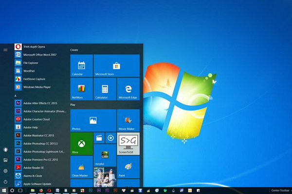 "Windows 10 ""ế"" là do Windows 7"