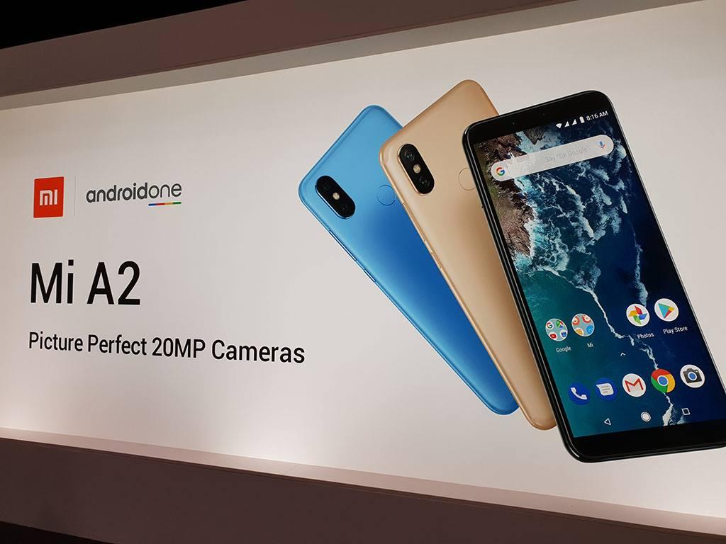 Xiaomi chính thức ra mắt Mi A2 và Mi A2 Lite: nâng cấp mạnh về camera, hiệu năng