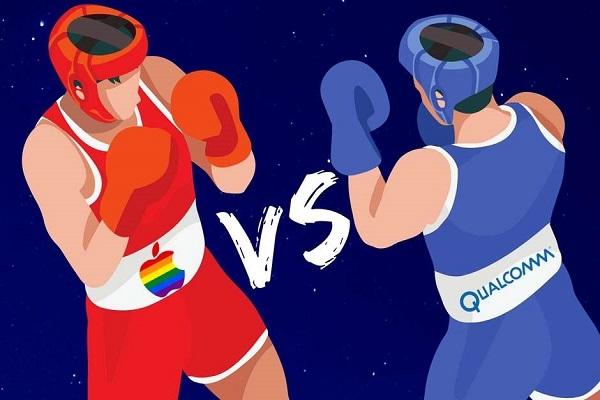 """Qualcomm """"đá đểu"""" Apple trong bài so sánh tốc độ mạng iPhone và Android"""