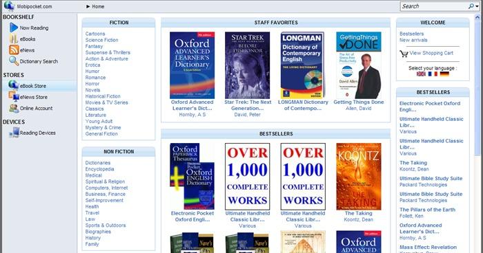 Sự khác nhau giữa các định dạng eBook: epub, mobi, azw, iba