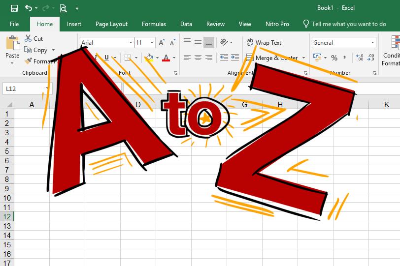 Bí quyết tự động điền các ký tự từ A – Z trên Excel