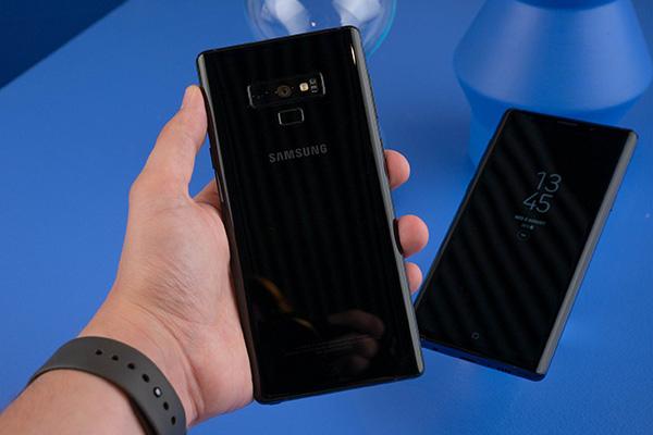 Ảnh cận cảnh Samsung Galaxy Note 9 chính thức