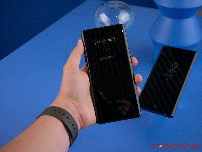 Dưới đây là một số hình ảnh cận cảnh chiếc Galaxy Note 9 của trang công nghệ Mobilesyrup.