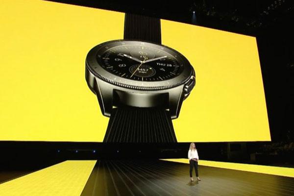 Samsung ra mắt Galaxy Watch: kết nối LTE, pin lên đến 1 tuần