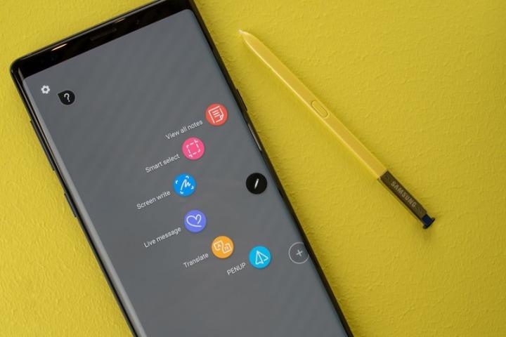 Những lý do bạn nên quan tâm nhiều hơn đến bút S-Pen của Note 9
