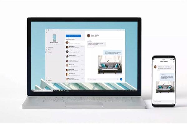 Microsoft phát hành Your Phone, ứng dụng chiếu nội dung từ smartphone lên máy tính Windows 10