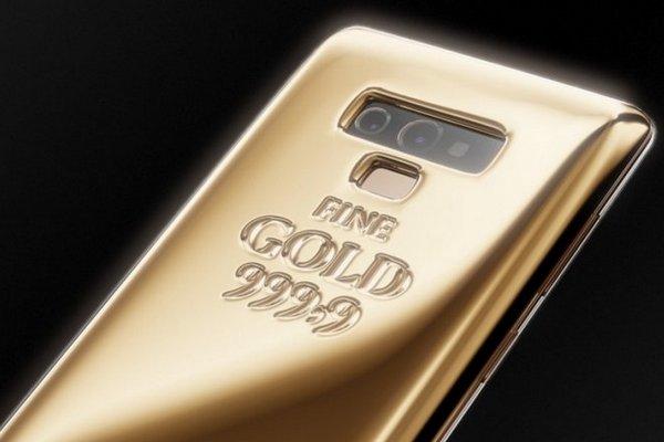 Xuất hiện Galaxy Note9 với... 1 kg vàng nguyên chất ở mặt lưng