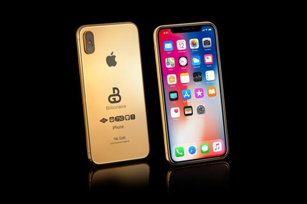 """Chưa ra mắt, iPhone X 2018 đã có phiên bản """"tỷ phú"""": Giá 2,7 tỷ, muốn mua phải đặt trước một nửa"""