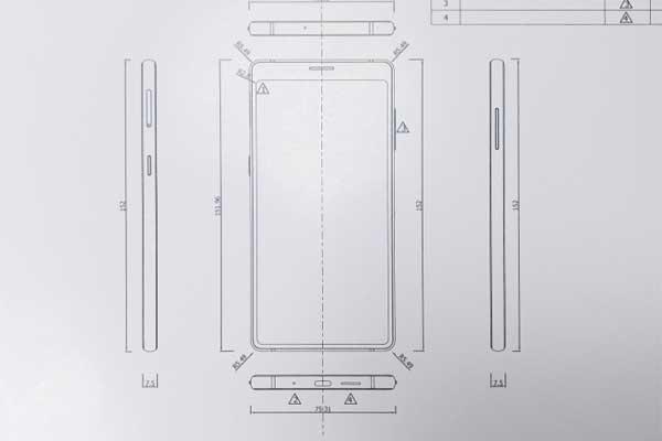 """Bphone 3 lộ kiểu dáng, không """"cằm"""" như iPhone X"""