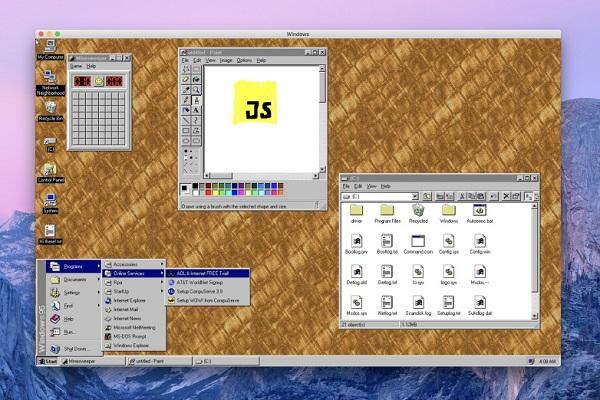 Phát triển thành công Windows 95 dưới dạng ứng dụng, hỗ trợ cả Windows, macOS và Linux