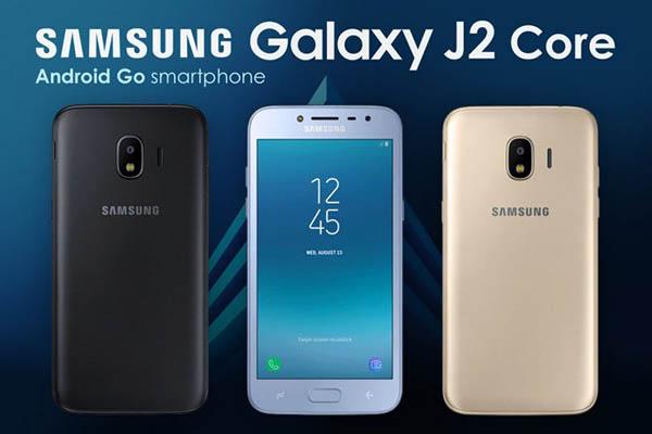 Samsung chính thức công bố Galaxy J2 Core, chiếc điện thoại đầu tiên của hãng chạy Android Go