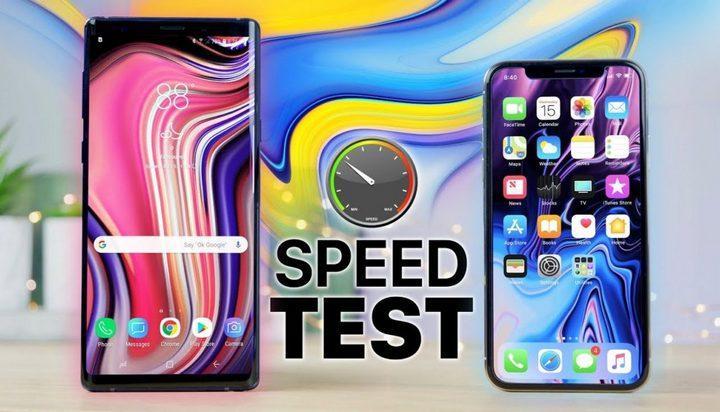 Đọ hiệu năng iPhone X và Galaxy Note 9: iPhone mở nhanh hơn, đa nhiệm kém hơn - Ảnh 1.