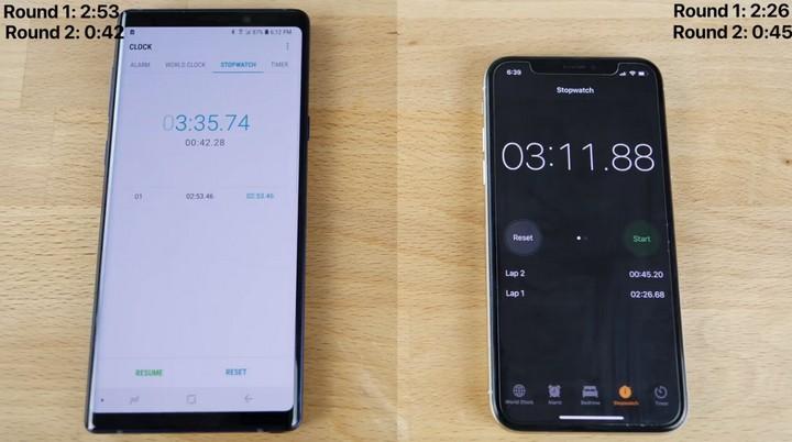Đọ hiệu năng iPhone X và Galaxy Note 9: iPhone mở nhanh hơn, đa nhiệm kém hơn - Ảnh 4.