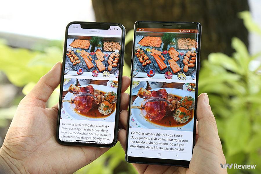 Cuộc chiến nghìn đô: chọn Galaxy Note 9 hay iPhone X?