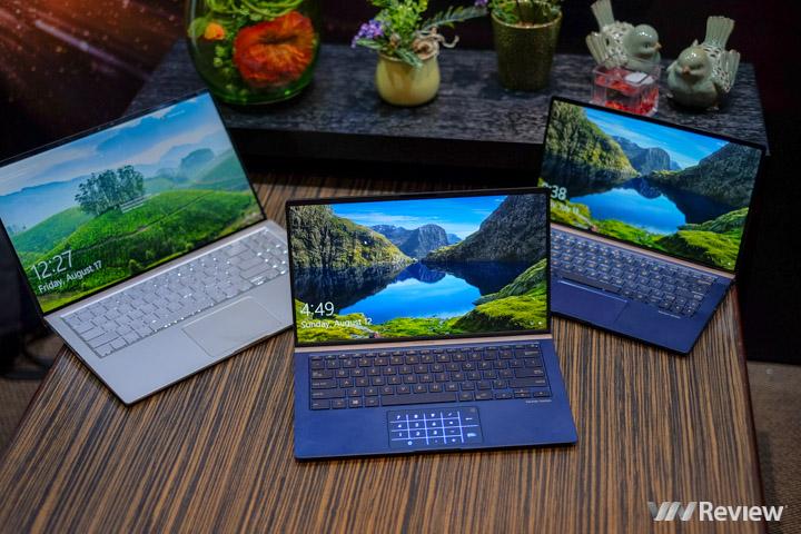Trên tay loạt sản phẩm Asus ZenBook vừa ra mắt tại IFA 2018: laptop 13 inch nhỏ hơn tờ giấy A4