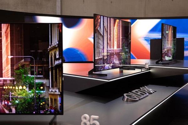 Samsung tung ra TV độ phân giải 8K đầu tiên