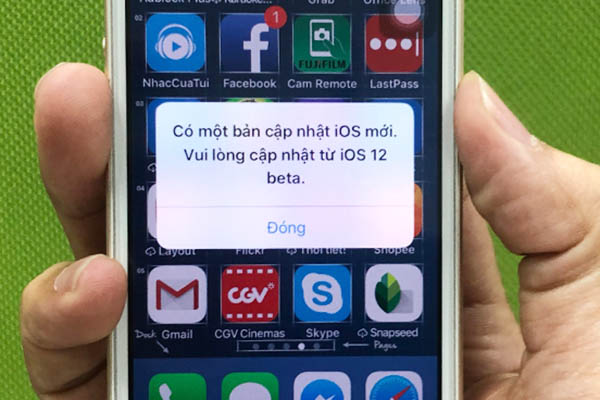 Cách tắt thông báo cập nhật cực khó chịu trên iOS 12 beta