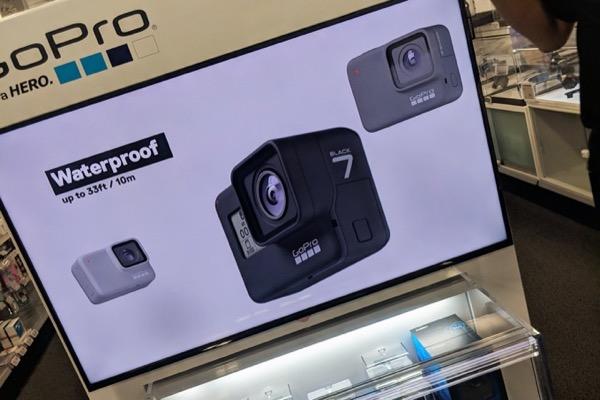 GoPro Hero 7 lộ diện: Thiết kế không thay đổi, nhấn mạnh khả năng chống rung, chống nước