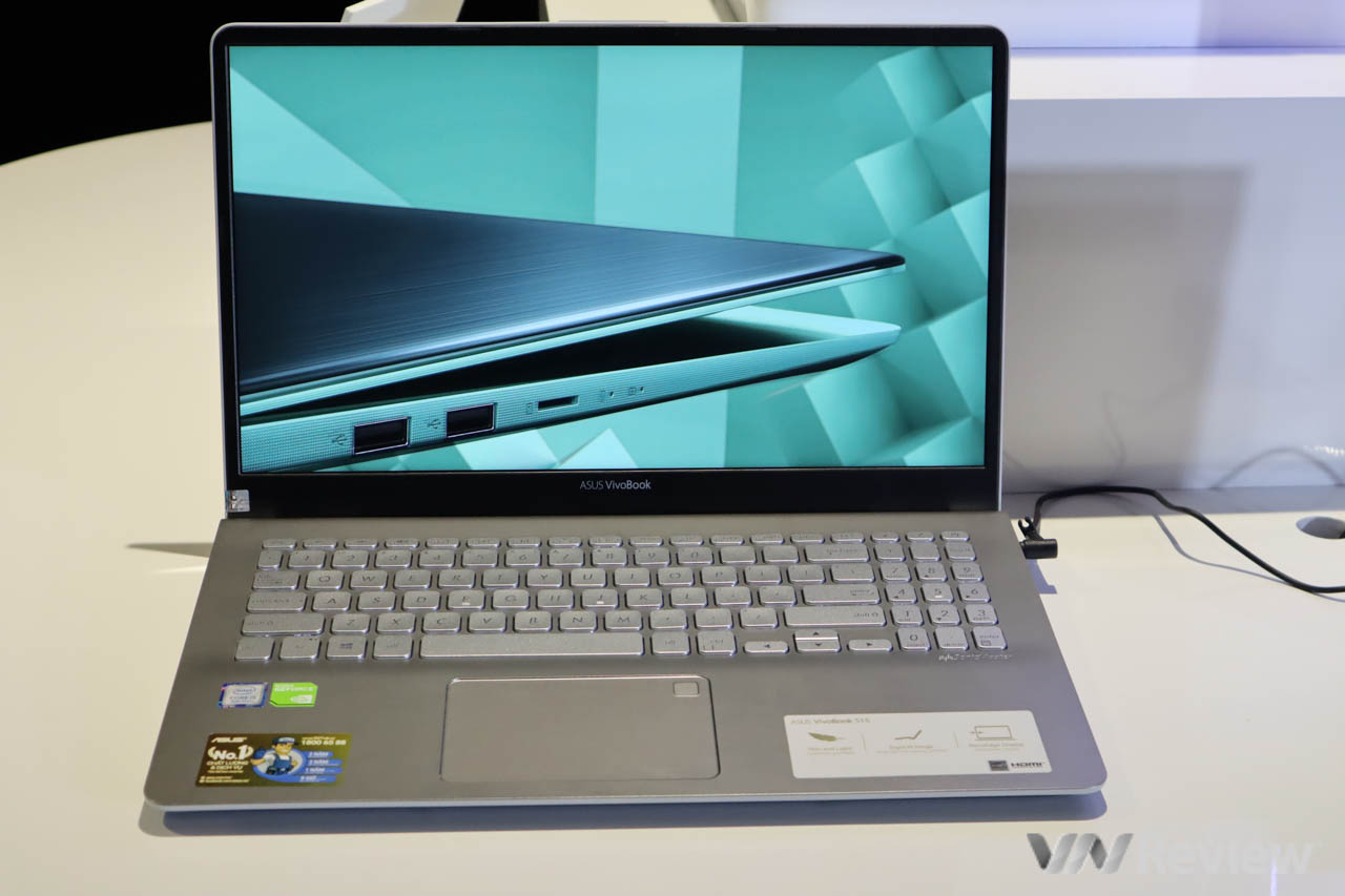 Asus mang laptop không webcam, viền mỏng 4 cạnh VivoBook S13