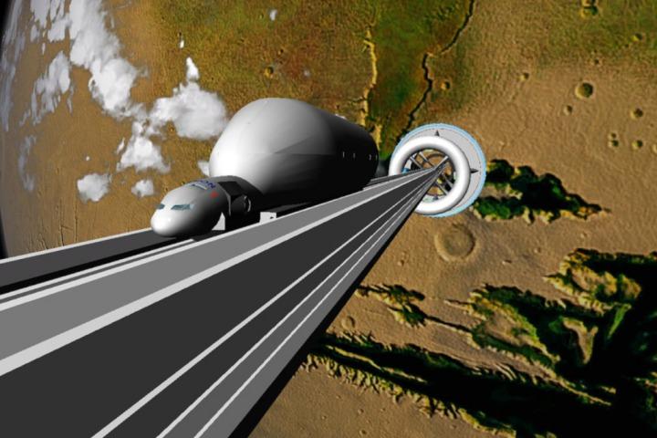 Nhật Bản sắp thử nghiệm thang máy đi từ mặt đất ra vũ trụ, sẽ có một chiếc lớn hơn nhiều trong tương lai