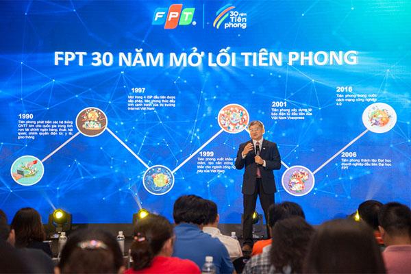 FPT sắp tổ chức đại tiệc công nghệ và âm nhạc mừng 30 năm thành lập