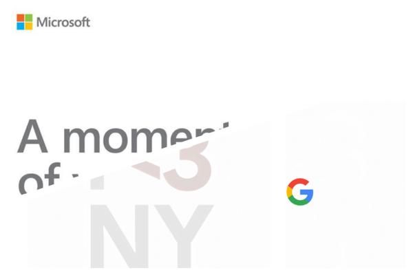 Surface thế hệ mới và Google Pixel 3 sẽ cùng trình làng vào đầu tháng 10 tới