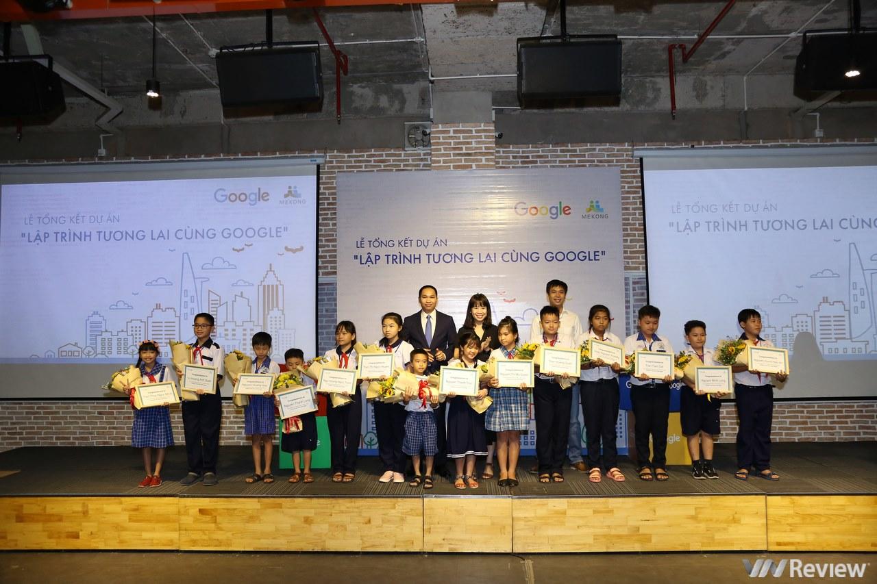 14 học sinh Việt Nam được đến Google Singapore tìm hiểu về lập trình