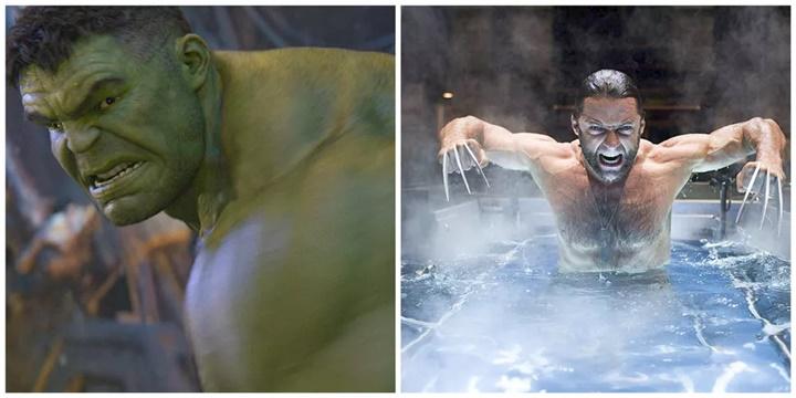 Người khổng lồ xanh (Hulk) tuyên chiến với Wolverine (Người sói): ai sẽ thắng đây?