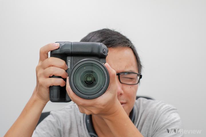 Trên tay Canon EOS R, mirrorless fullframe đầu tiên của Canon