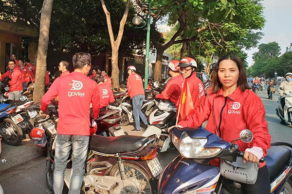 """Go-Viet """"khô máu"""", áp giá 1.000 đồng cho chuyến xe ôm dưới 6 km tại Hà Nội"""