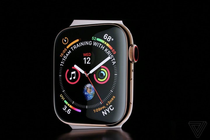 Apple Watch Series 4 ra mắt: Thiết kế mới, tùy biến mạnh mẽ
