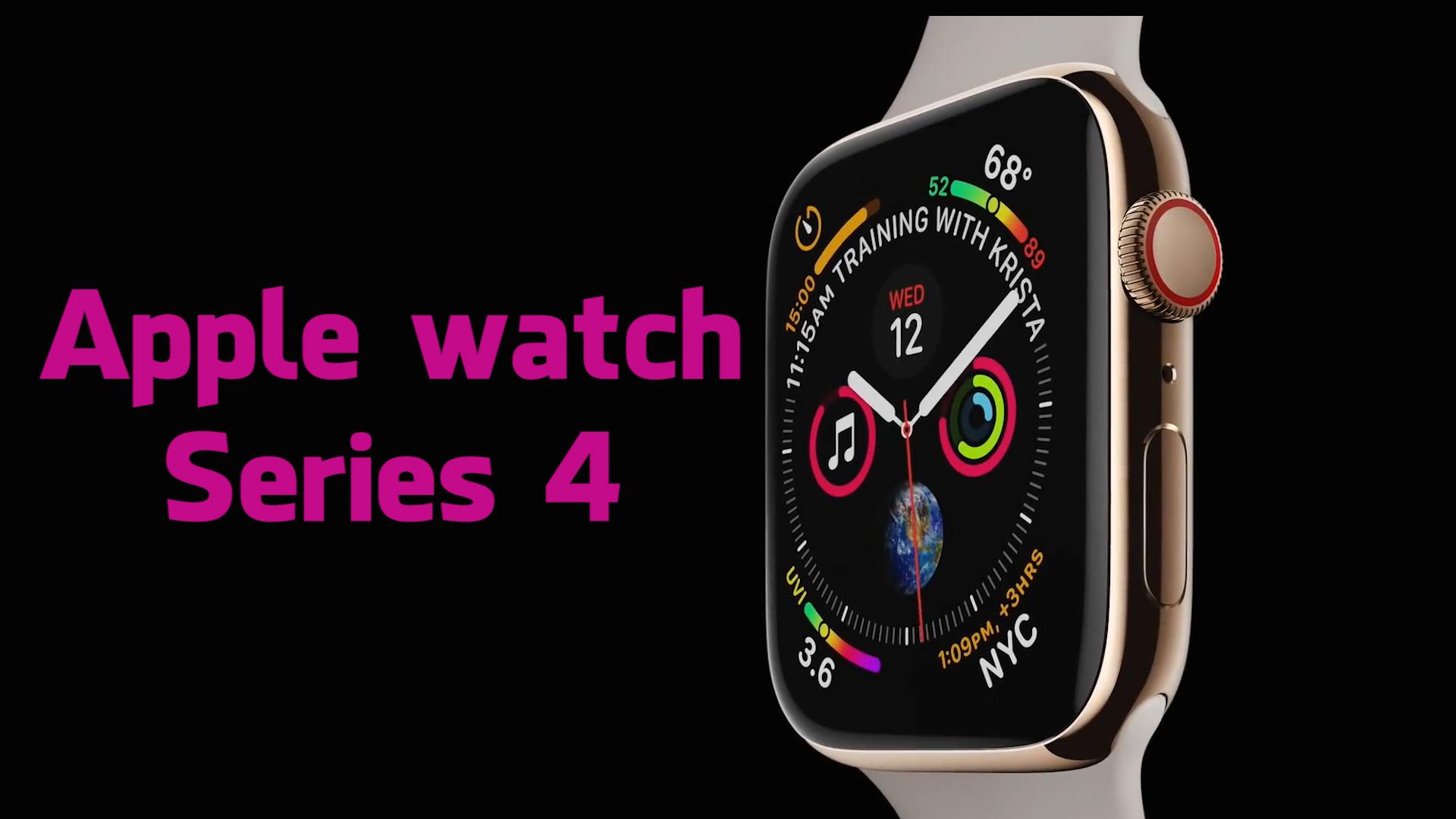 Trên tay nhanh Apple Watch Series 4: Thiết kế mới, tùy biến mạnh mẽ