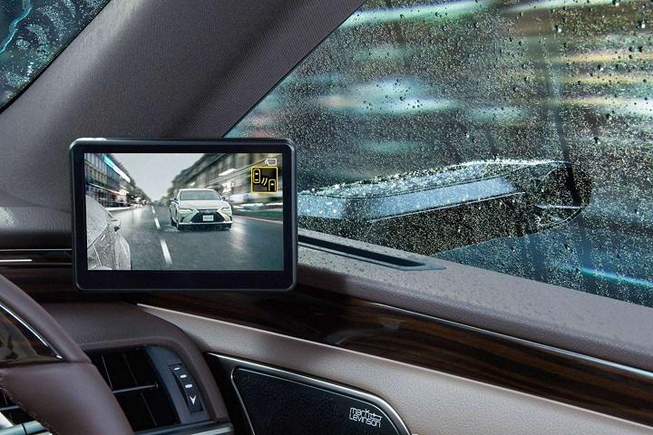 Lexus sẽ là xe hơi đầu tiên thế giới loại bỏ gương chiếu hậu, thay bằng gương thông minh