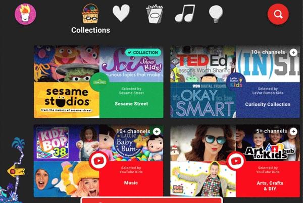 Youtube nay cho phép cha mẹ tự chọn video con cái được phép xem