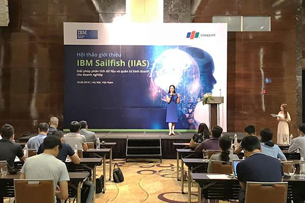 Ra mắt hệ thống phân tích dữ liệu mới của IBM Sailfish tại Việt Nam