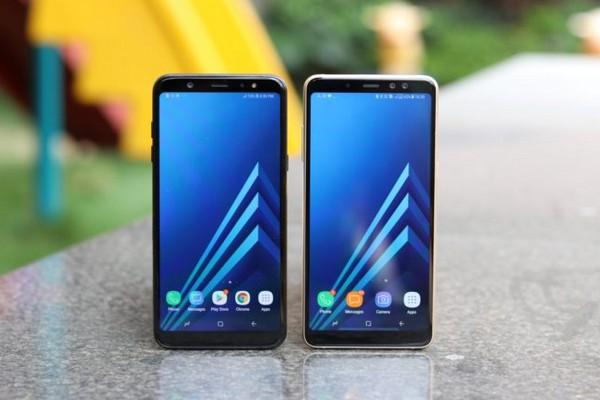 Ảnh báo chí xác nhận Galaxy A7 (2018) có 3 camera sau, cảm biến vân tay đặt ở cạnh bên