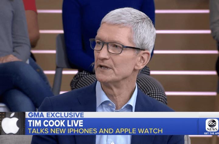 Tim Cook thừa nhận iPhone XS rất đắt