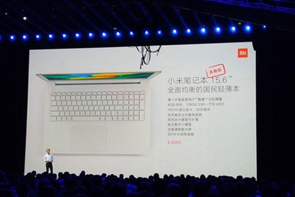 Xiaomi trình làng laptop Mi Notebook Youth Edition
