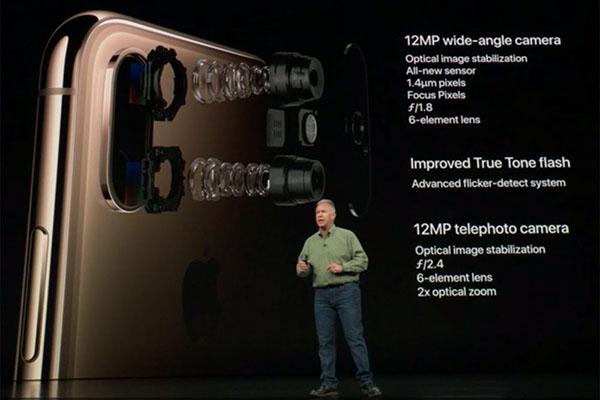 4 điểm mới trên camera của iPhone XS và XS Max