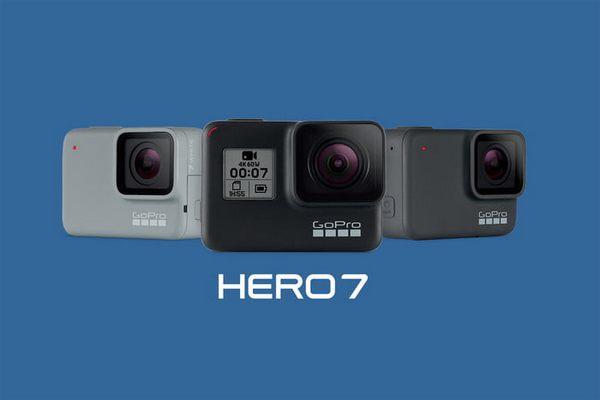 GoPro trình làng HERO 7: Quay 4K 60fps, hỗ trợ điều khiển bằng giọng nói, quay slow-motion