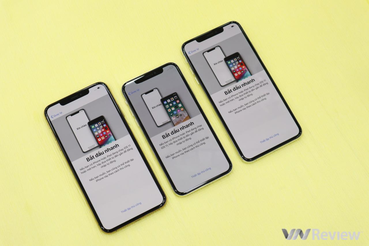 Trên tay iPhone XS Max vừa về Việt Nam ngay trước khi Apple mở bán chính thức